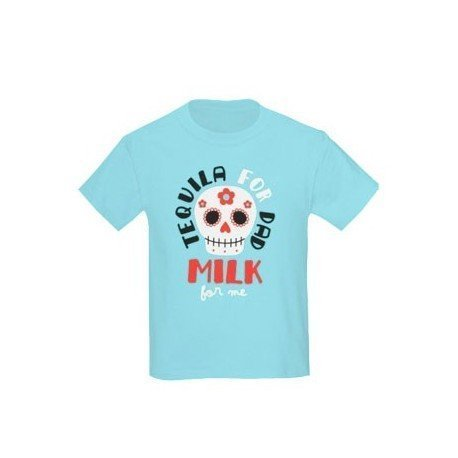 CAMISETA NIÑO TEQUILA FOR DAD MILK FOR ME