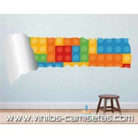 VINILO LEGO PARED