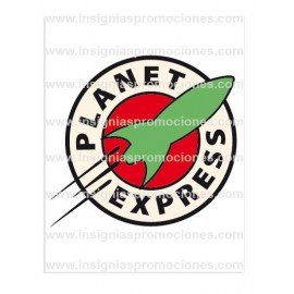 ADHESIVO FUTURAMA PLANET EXPRESS