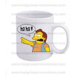 TAZA NELSON LOS SIMPSONS