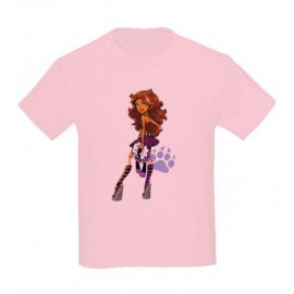 CAMISETA NIÑAS MONSTER HIGH CLAWDEEN