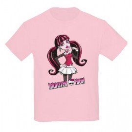 CAMISETA NIÑAS MONSTER HIGH DRACULAURA