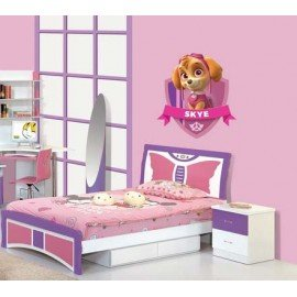 VINILO DECORATIVO PARED BLANCANIEVES