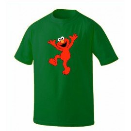 CAMISETA BARRIO SÉSAMO ELMO HAPPY