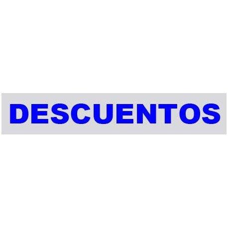 """VINILO CRISTAL """"DESCUENTOS"""""""