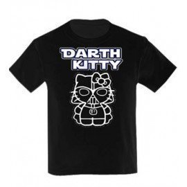CAMISETA NIÑAS DARTH KITTY