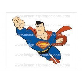 ADHESIVO SUPERMAN