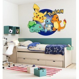 VINILO DECORATIVO 4 POKEMON
