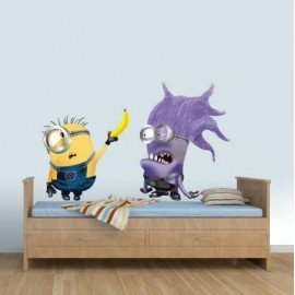 VINILO MINION PHIL Y ANTI-MINION