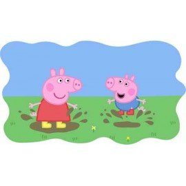 VINILO PEPPA PIG BARRO