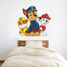 VINILO PARED CHASE, RUBBLE Y MARSHALL