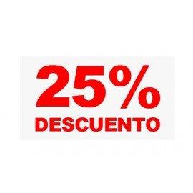 "VINILO CRISTAL ""25%"""