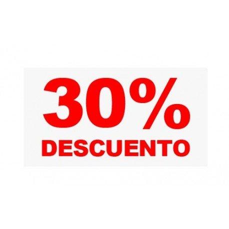 "VINILO CRISTAL ""30%"""