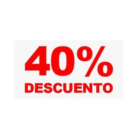 "VINILO CRISTAL ""40%"""