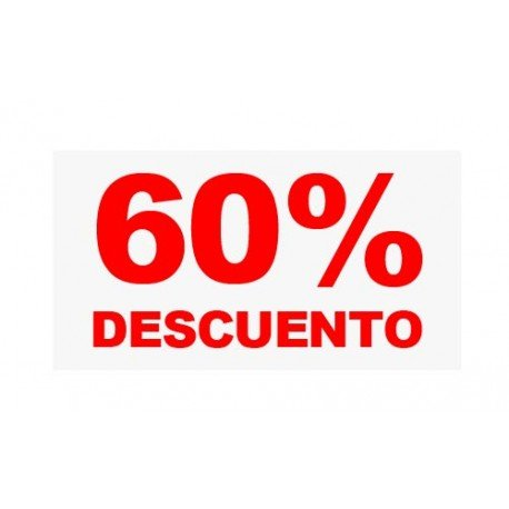"VINILO CRISTAL ""60%"""