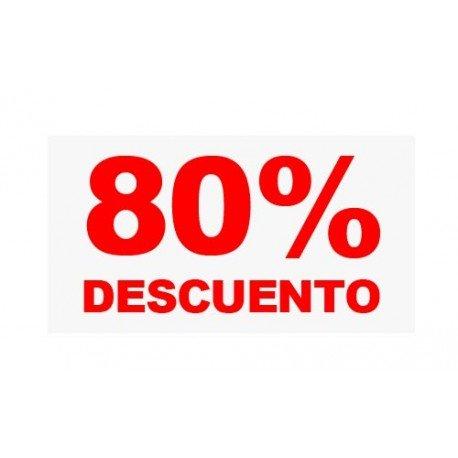 "VINILO CRISTAL ""80%"""