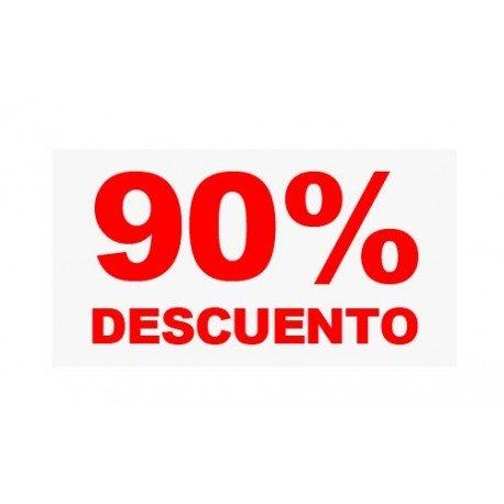 "VINILO CRISTAL ""90%"""