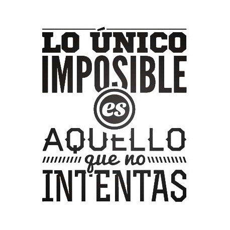 VINILO PARED IMPOSIBLE