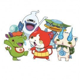VINILO DECORATIVO PARED YO-KAI WATCH