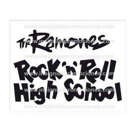 ADHESIVO RAMONES ROCK