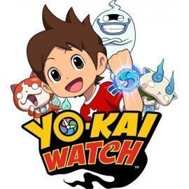VINILO DECORATIVO PARED YO-KAI WATCH CON LOGO