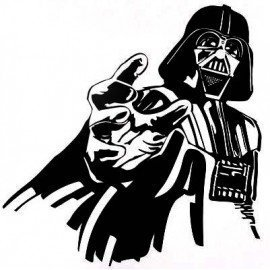 VINILO STAR WARS DARTH VADER CON MANO