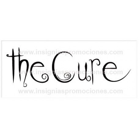 ADHESIVO THE CURE