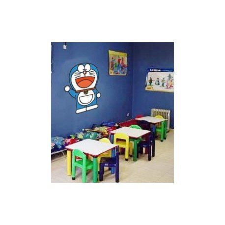 VINILO DECORATIVO PARED DORAEMON