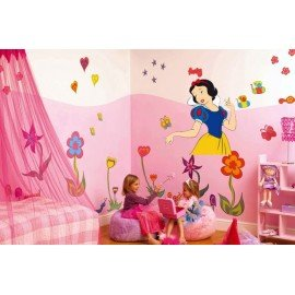 VINILO PARED BLANCANIEVES