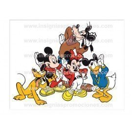 ADHESIVO MICKEY AND FRIENDS
