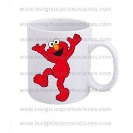 TAZA BARRIO SÉSAMO ELMO HAPPY