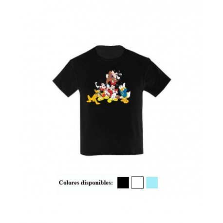 CAMISETA NIÑOS MICKEY & FRIENDS