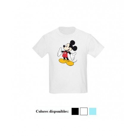 CAMISETA NIÑO MICKEY MOUSE