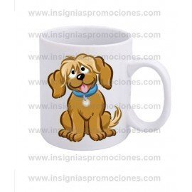 TAZA PERRITO BROWN