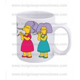 TAZA PATTY Y SELMA
