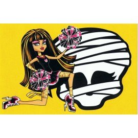 ADHESIVO MONSTER HIGH CLEO DE NILE CALAVERA