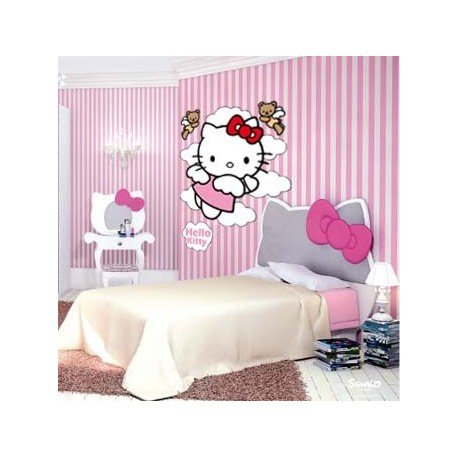 VINILO DECORATIVO HELLO KITTY ANGEL