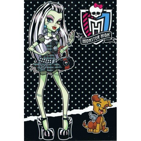 PÓSTER MONSTER HIGH FRANKIE STEIN