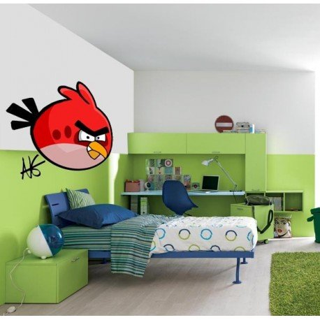 VINILO DECORATIVO ANGRY BIRDS