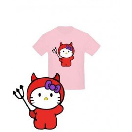 CAMISETA HELLO KITTY DEMONIO