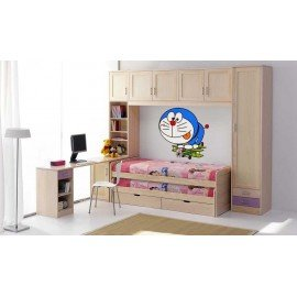 VINILO DECORATIVO PARED DORAEMON AEREOPLANO