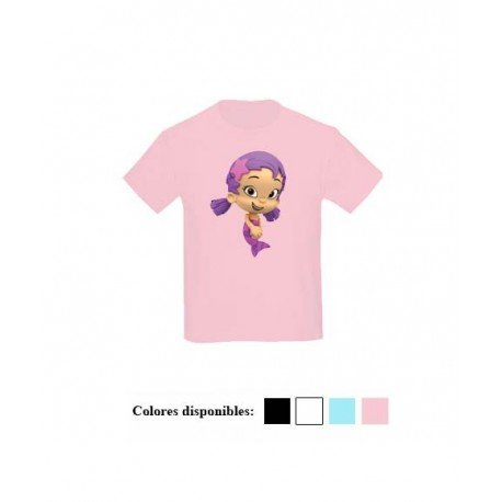 CAMISETA NIÑAS OONA BUBBLE GUPPIES