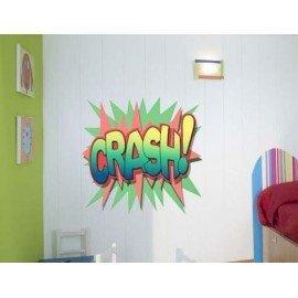 VINILO DECORATIVO CRASH COMIC