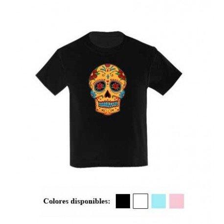 marca popular buscar original seleccione para el último CAMISETA NIÑO CALAVERA MEJICANA