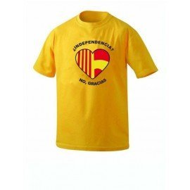 CAMISETA NO A LA INDEPENDENCIA