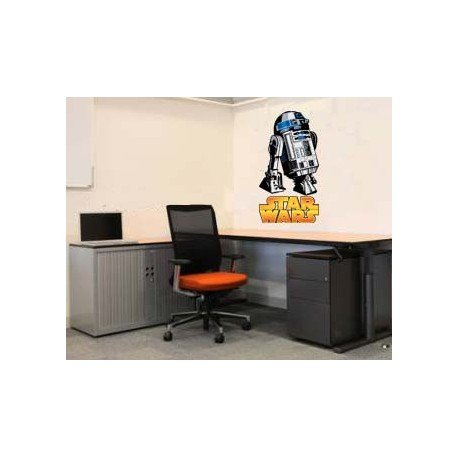 VINILO DECORATIVO PARED GENERAL GRIEVOUS STAR WARS