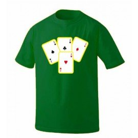 CAMISETA CARTAS POKER