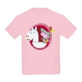 CAMISETA GEORGE PIG THE BRAVE