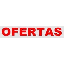 """VINILO CRISTAL """"OFERTAS"""""""