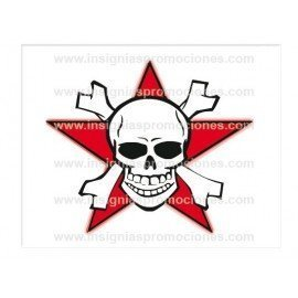 ADHESIVO STAR SKULL
